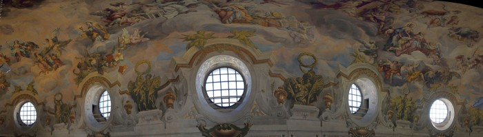 "Karlskirche /  Panorama Kuppel ""<br><p>Source: <a href=""https://commons.wikimedia.org/wiki/Category:Karlskirche,_Vienna_-_Frescos?uselang=de#/media/File:Wien_2012_Fresco_-_Kuppel_-_Panorama_in_der_Karlskirche_1.jpg"" target=""_blank"" >https://commons.wikimedia.org/wiki/Category:Karlskirche,_Vienna_-_Frescos?uselang=de#/media/File:Wien_2012_Fresco_-_Kuppel_-_Panorama_in_der_Karlskirche_1.jpg</a></p>Urheber: by Böhringer Friedrich"
